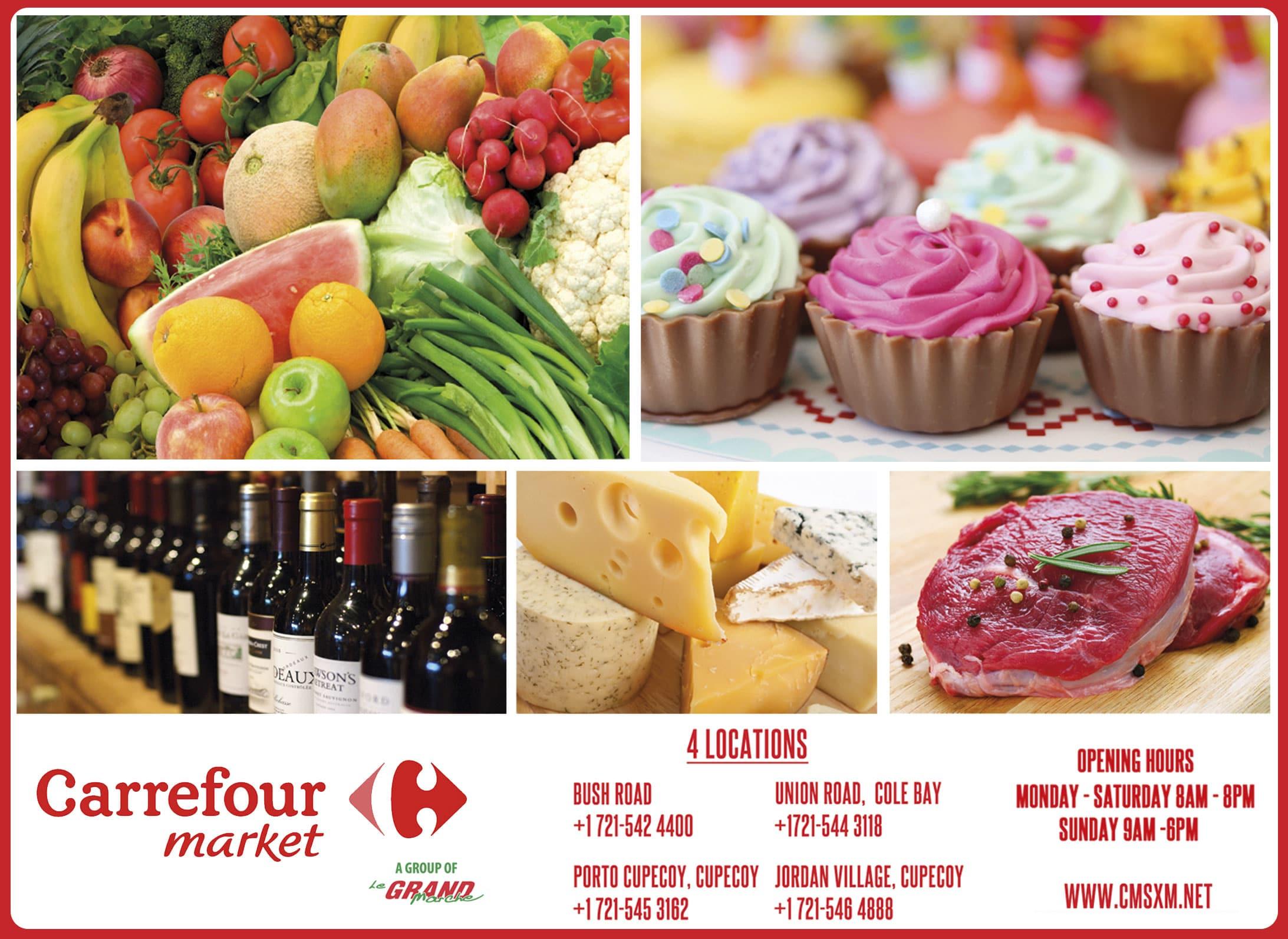 St Maarten Telephone Directory - Carrefour Market