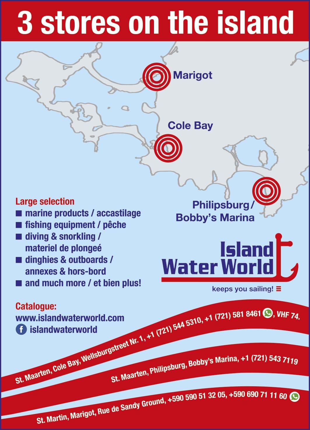 St Maarten Telephone Directory - Island Water World