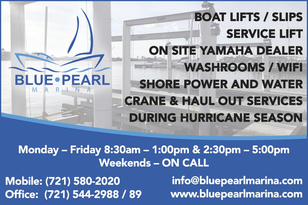 St Maarten Telephone Directory - Blue Pearl Marina