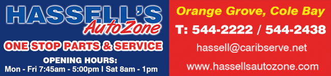 St Maarten Telephone Directory - Hassell's Auto Zone