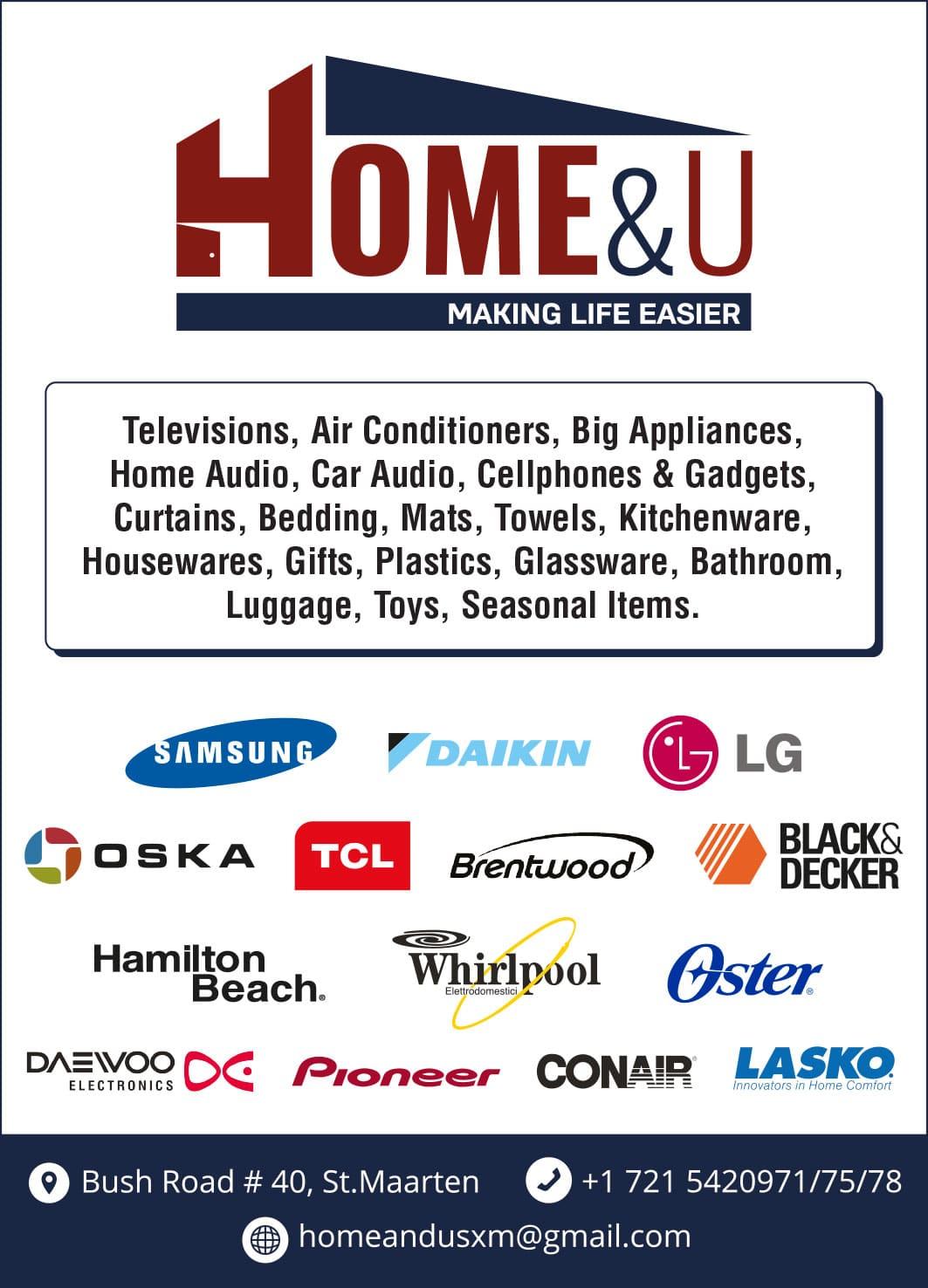 St Maarten Telephone Directory - Home and u